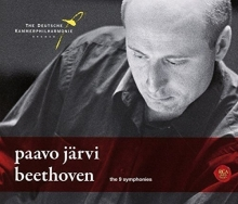 Beethoven:The 9 Symphonies - de Paavo Jarvi/The Deutsche Kammerphilharmonie