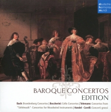 Baroque Concertos Edition - de Bach,Boccherini,Telemann,Handel,Corelli etc.