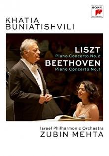 Liszt:Piano Concerto no.2/Beethoven:Piano Concerto no.1 - de Khatia Buniatishvili,Israel Philharmonic Orchestra,Zubin Mehta