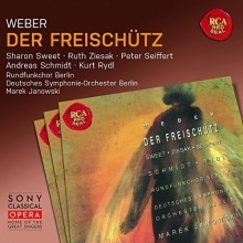 Weber:Der Freischutz - de Sharon Sweet,Ruth Ziesak,Peter Seiffert,Andreas Schmidt,Kurt Rydl,Deutsches Symphonie-Orchester Berlin,Marek Janowski