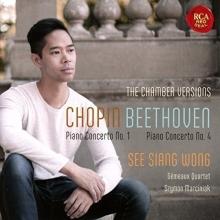 Chopin,Beethoven - de See Siang Wong/Gemeaux Quartet,Szymon Marciniak
