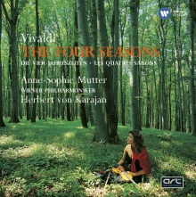 Vivaldi:The Four Seasons - de Anne-Sophie Mutter/Wiener Philharmoniker/Herbert von Karajan