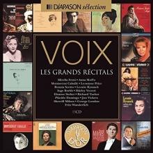 Voix:Les Grands Recitald - de Mirella Freni,Anna Moffo,Leontyne Price,Renata Scotto etc.