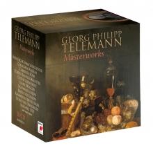Georg Philipp Telemann:Masterworks - de Freiburger Barockorchester/Collegium Aureum/Camerata Koln/Gustav Leonhardt/Frans Bruggen etc
