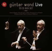 Gunter Wand Live - de Brahms,Bruckner,Schumann,Mozart,Beethoven etc.
