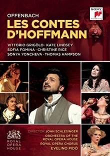 Offenbach:Les Contes D\'Hoffmann - de Vittorio Grigolo,Kate Lindsey,Sofia Fomina,Christine Rice,Orchestra of The Royal Opera House,Evelino Pido
