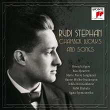Chamber works and songs - de Rudi Stephan