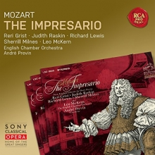 Mozart:The Impresario - de Reri Grist,Judith Raskin,Richard Lewis,English Chamber Orchestra,Andre Previn