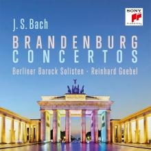J.S.Bach:Brandenburg Concertos - de Berliner Barock Solisten/Reinhard Goebel