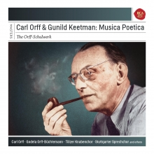 Carl Orff & Gunild Keetman:Musica Poetica - de Gerhard Schmidt-Gaden/Fritz Schieri/Kammerchor der Staarlichen Hochschule/Instrumental Ensemble
