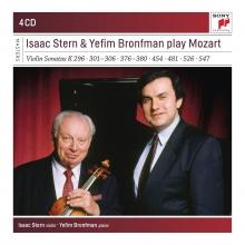 Isaac Stern&Yefim Bronfman play Mozart - de Violin Sonatas K296,301-306,376-380,454,481,526,547