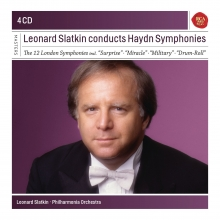 Leonard Slatkin conducts Haydn Symphonies - de The 12 London Symphonies