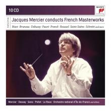 Jacques Mercier conducts French Masterworks - de Bizet-Bruneau-Debussy-Faure-Franck-Roussel-Saint-Saens etc