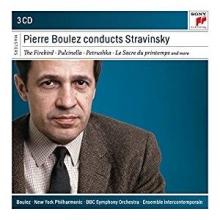 Pierre Boulez conducts Stavinsky - de Pierre Bloulez-New York Philharmonic-BBC Symphony Orchestra-Ensemble Intercontemporain