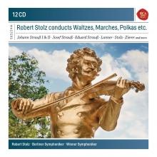 Robert Stolz conducts Waltzes,Marches,Polkas etc. - de Robert Stolz-Berliner Symphoniker-Wiener Symphoniker