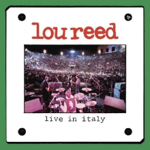 LIVE IN ITALY - de Lou Reed