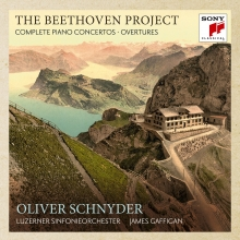 THE BEETHOVEN PROJECT:COMPLETE PIANO CONCERTOS - de Oliver Schnyder,Luzerner Sinfonieorchester