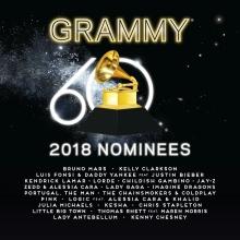 Grammy 2018 Nominees - de Bruno Mars,Kelly Clarkson,Luisi Fonsi,Kendrick Lamar etc.