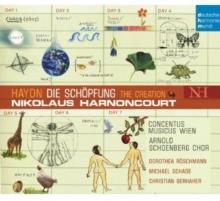 Haydn:Die Schopfung-The Creation - de Nikolaus Harnoncourt