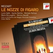 Mozart: Le Nozze Di Figaro - de Lucio Gallo,Karita Mattila,Michele Pertusi,Marie McLaughlin/Coro e Orchestra del Maggio Musicale Fiorentino/Zubin Mehta