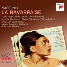 Massenet: La Navarraise - de Lucia Popp,Alain Vanzo,Gerard Souzay,Vicente Sardinero/London Symphony Orchestra/Antonio De Almeida
