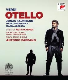 Verdi:Otello - de Jonas Kaufman,Marco Vratogna,Maria Agresta/Royal Opera House/Antonio Pappano