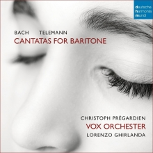 Bach/Telemann:Cantatas for Baritone - de Christoph Pregardien/Vox Orchester/Lorenzo Ghirlanda