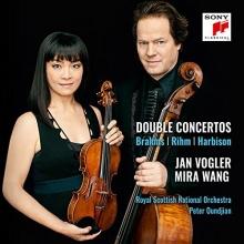 Brahms/Rihm/Harbison:Double Concertos - de Jan Vogler/Mira Wang/Royal Scottish National Orchestra/Peter Qundjian