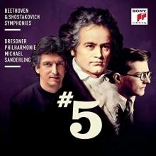 Beethoven&Shostakovich:Symphonies - de Dresdner Philharmonie/Michael Sanderling