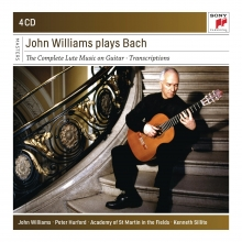 John Williams plays Bach:The Complete Lute Music on Guitar-Transcriptions - de John Williams/Peter Hurford/Academy of St.Martin in the Fields/Kenneth Sillito