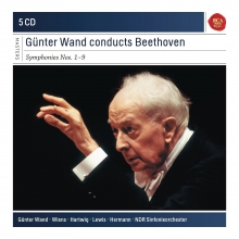 Gunter Wand conducts Beethoven - de Symohonies nos.1-9