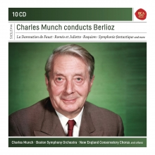 Charles Munch conducts Berlioz - de La Damnation de Faust-Romeo et Juliette-Requiem-Symphonie fantastique etc.