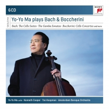 Yo-Yo Ma plays Bach & Boccherini - de Bach:The Cello Suites-The Gamba Sonatas-Boccherini:Cello Concertos etc.