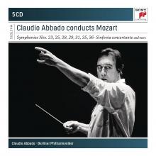 Claudio Abbado conducts Mozart:Symphonies nos.23,25,28,29,31,35,36-Sinfonia Concertanta - de Claudio Abbado/Berliner Philharmoniker