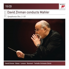 David Zinman conducts Mahler:Symphonies nos.1-10 - de David Zinman,Banse,Larsson,Remmert,Tonhalle,Orchester Zurich