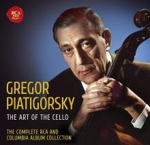 Gregor Piatigorsky:The Art of the Cello - de Charles Munch,Eugene Ormandy,Fritz Reiner,Boston Symphony Orchestra,London Symphony Orchestra etc.