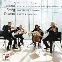 Beethoven-Davidovsky-Bartok - de Julliard String Quartet