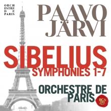 Sibelius:Symphonies 1-7 - de Paavo Jarvi/Orchestre de Paris