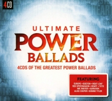 Ultimate....Power Ballads - de Europe,Toto,Bonnie Tyler,Meat Loaf,Alice Cooper,etc