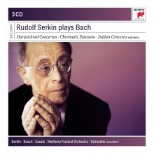 Rudolf Serkin plays Bach - de Harpsichord Concertos-Chromatic Fantasia-Italian Concerto etc.