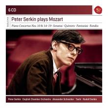 Peter Serkin plays Mozart - de Piano Concertos nos.10&14-19-Sonatas-Quintets-Fantasias-Rondos
