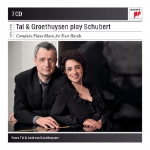 Tal & Groethuysen play Schubert - de Complete Piano Music for Four Hands