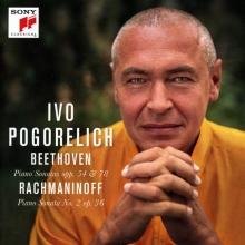 Beethoven:Piano Sonatas op.54&78  Rachmaninoff-Piano Sonata no.2 op.36 - de Ivo Pogorelich