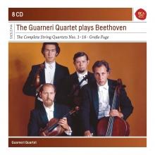 The Guarneri Quartet plays Beethoven:The Complete String Quartets nos.1-16-Grosse Fuge - de Guarneri Quartet