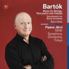 Bartok: Music For Strings Percussion & Celesta - de Jarvi, Paavo