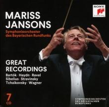 Great Recordings:Bartok-Haydn-Ravel-Sibelius-Stravinsky-Tchaikovsky-Wagner - de Mariss Jansons/Symphonieorchester des Bayerischen Rundfunks