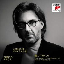 Beethoven:The Complete Sonatas for Violin and Piano - de Leonida Kavakos