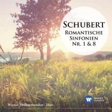 Schubert:Romantische Sinfonien nr.1&8 - de Riccardo Muti/Wiener Philharmoniker