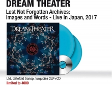 Lost Not Forgotten-Images and Words-Live in Japan 2017(transparent turquoise) - de Dream Theater