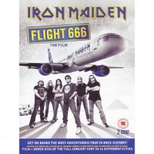 Flight 666 the film - de Iron Maiden